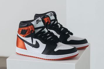 "Air Jordan 1 Satin ""Black Toe"" Officially Unveiled: Release Info"