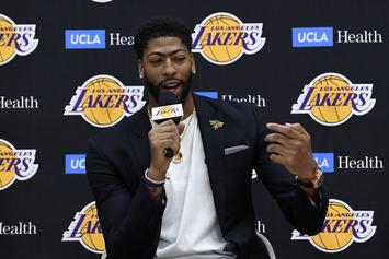 Anthony Davis Speaks Out On Kawhi Leonard Not Joining The Lakers
