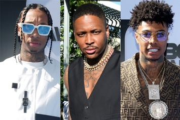 Tyga Shares His Phone Number To Promote Upcoming Banger With Blueface & YG