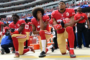 Colin Kaepernick Praises Eric Reid For Continuing Anthem Protests