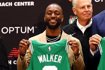 "Jayson Tatum Says He Had ""Big Part"" In Kemba Walker Joining Celtics"