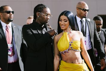 Offset Comes To Cardi B's Defense Over Autograph Seeker Lawsuit