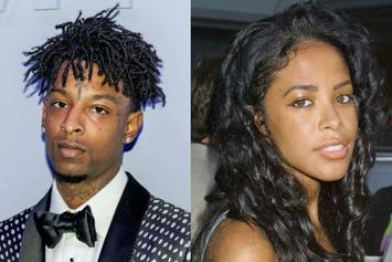 21 Savage Hilariously Grooves To Old School Aaliyah Jams On Tour Bus