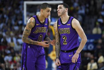 "Kyle Kuzma Misses Lonzo Ball, Claims They Have ""Special Relationship"""