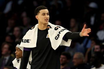 Kyle Kuzma Reacts To Lakers Schedule Reveal With Christmas Spirit