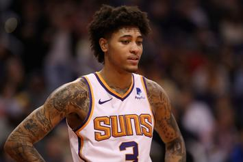 Kelly Oubre Jr. Cozies Up To Smoking Hot Model GF During Date Night