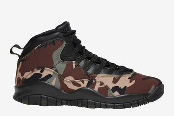 "Air Jordan 10 ""Desert Camo"" Release Date Confirmed: Closer Look"