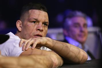 Nate Diaz Lights Up Joint At UFC 241 Open Workout, Shares With Fans: Watch