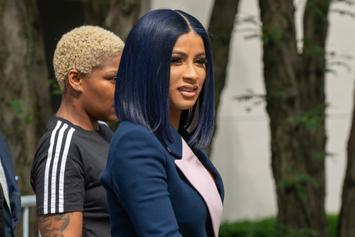 """Cardi B Debuts New Blonde Hair, Says Brunettes """"F*ck Better"""""""
