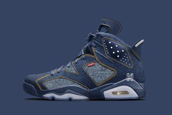 Air Jordan 6 x Levi's Denim Collab Rumored To Drop In 2020: Details