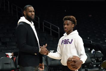LeBron James Bigs Up Bronny & Zaire Wade With Fatherly Hype Video