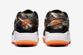 """Nike Air Max 1 Golf Shoe Brings """"Realtree Camo"""" To The Course: Official Photos"""
