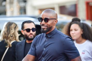 Jamie Foxx Spotted Holding Hands With Singer Sela Vave