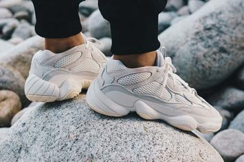 "Adidas Yeezy 500 ""Bone White"" Drops This Week: Official Details"