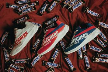 Skechers & Snickers Launch Collaborative Sneaker Collection