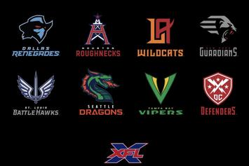 XFL Team Names & Logos Revealed: Dragons, Roughnecks & More