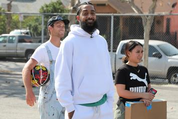 Nipsey Hussle's Friend Shot & Killed, His Final Words Cursed Out The Police