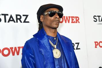 """Snoop Dogg Makes """"Power Moves"""" With La La Anthony & Carmelo Anthony's Son"""