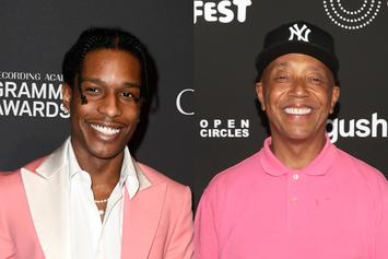 A$AP Rocky & Recently-Resurfaced Russell Simmons Both Spotted At Catch NYC
