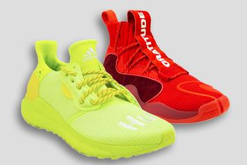 """Pharrell x Adidas x BBC Launch """"Now Is Her Time"""" Unisex Sneaker Pack"""