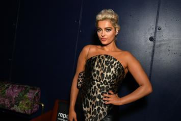 Bebe Rexha Does The Splits In Half-Naked 30th Birthday Photo