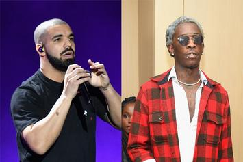 "Drake Forces Restaurant To Bump Young Thug's ""So Much Fun"" While He Dines"
