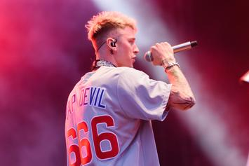"Machine Gun Kelly Disses Eminem On ""Rap Devil"" Anniversary"