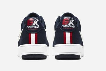 Patriots Super Bowl Wins Immortalized With New Nike Air Force 1