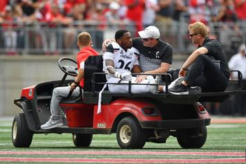 Kyriq McDonald Collapses Mid-Play During Ohio State Game