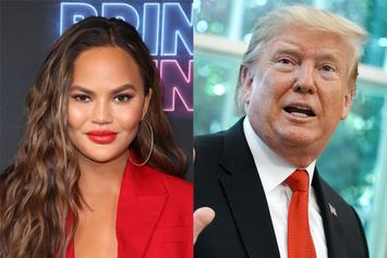 "Chrissy Teigen Claps Back After Trump Calls Her John Legend's ""Filthy Mouthed Wife"""