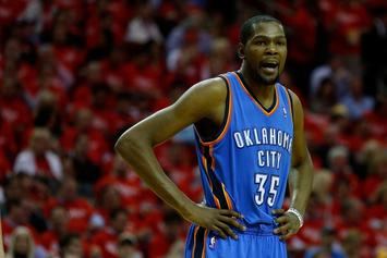 "Kevin Durant Bashes OKC: ""I Don't Trust Nobody There"""