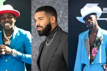 """Drake, DaBaby & Lil Nas X Conquer This Week's """"FIRE EMOJI"""" Playlist"""