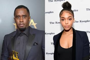 Diddy & Lori Harvey Show Signs Of PDA During Club Night