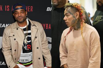 "Jim Jones Alleged Recording Calling For 6ix9ine To Be ""Violated"" Leaks: Report"