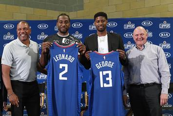 Kawhi Leonard & Paul George Reportedly Discussed Teaming Up Before Free Agency Started