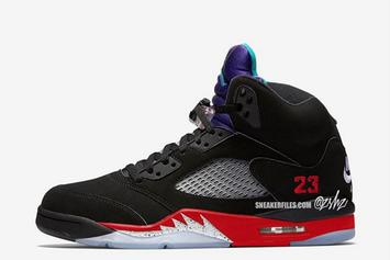 """Air Jordan 5 """"Top 3"""" Combines Classic Colorways: What To Expect"""