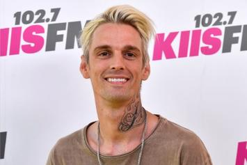 "Aaron Carter Feels Bad About His Recent Antics, Asks Public To ""Leave Me Alone"""
