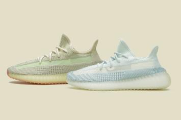 "Enter To Win Adidas Yeezy Boost 350 V2 ""Cloud White"" & ""Citrin"" Colorways"