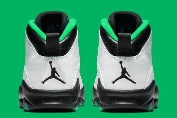 "Air Jordan 10 ""Seattle"" Rumored Release Date Revealed: Best Look Yet"