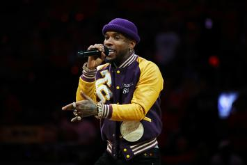 "Tory Lanez Shows Off His ""Wedding Cake"" Ring & Other Blinding Jewelry"