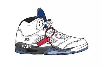 Off-White x Air Jordan 5 Collab Rumored For 2020: Details