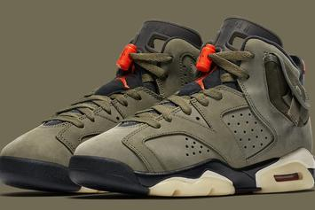 Travis Scott x Air Jordan 6 To Come In Full Family Sizing, Prices Revealed
