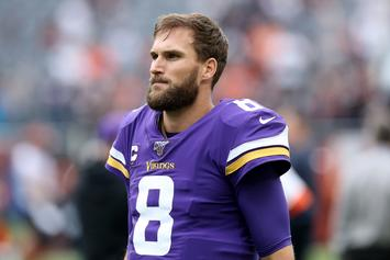 Kirk Cousins Responds To Adam Thielen After Being Called Out