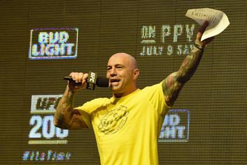 """Joe Rogan Joins """"Sober October"""" Campaign With Other Podcast Hosts"""