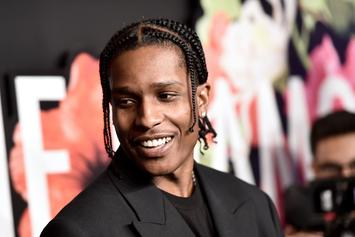 """A$AP Rocky's New Album Seemingly Titled """"All Smiles"""""""