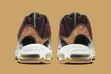 """Nike Air Max 98 Coming In Premium """"New Year's"""" Colorway: Official Photos"""