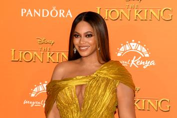 Beyoncé Rocks Dazzling Gold Dress To Tyler Perry Studios' Launch Party