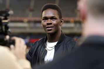 Israel Adesanya Maniacally Laughs At His Critics After UFC 243 Win: Watch