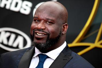 """Shaq Begs Fans To Roast His """"George Jefferson"""" Hairline: Watch"""