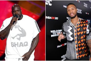 """Shaq's Son Says His Dad """"Bodied"""" Damian Lillard In Rap Battle: """"It's Over, He Won"""""""